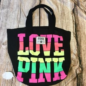 💚💛💗LOVE PINK TOTE 💗💛💚